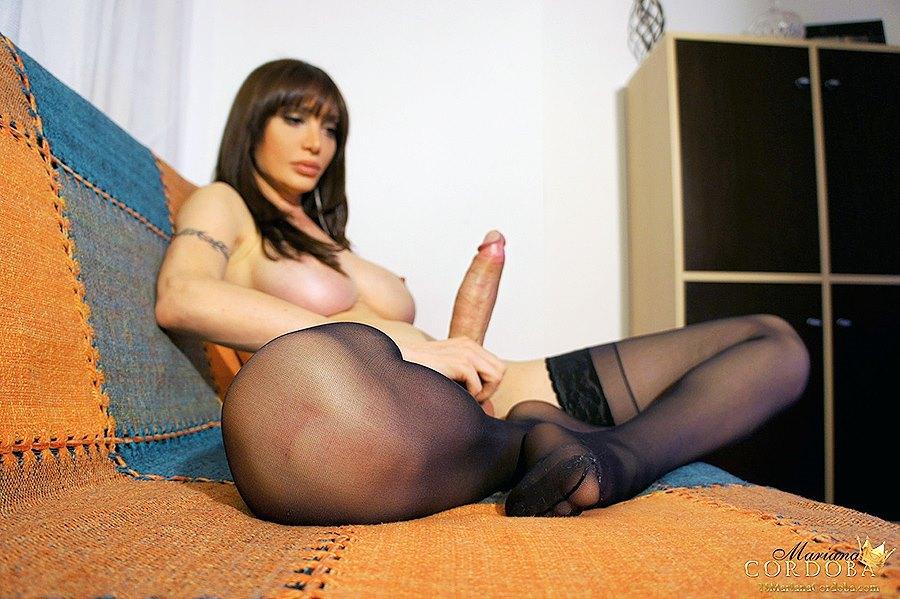 Mariana Cordoba in Stockings