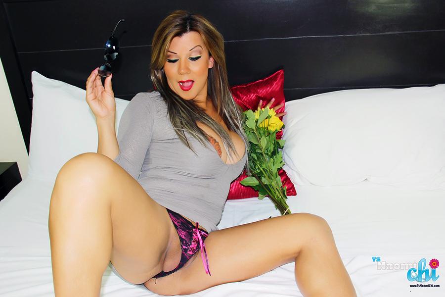 Trans girl in panties